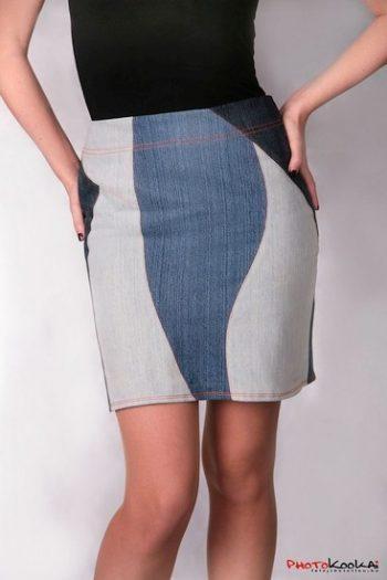 Patchwork szoknya - Rethy Fashion