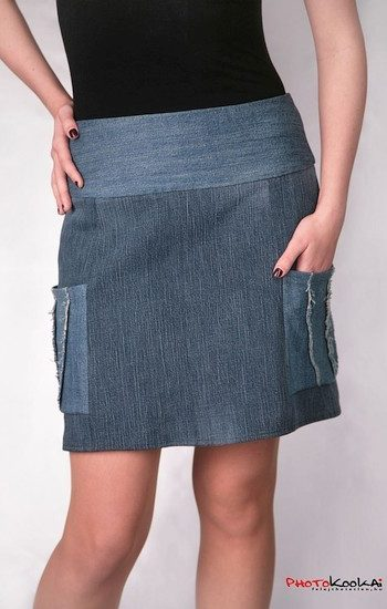 Vágott zsebes szoknya - Rethy Fashion