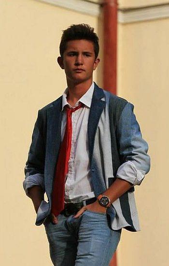 Férfi zakó kék - Rethy Fashion