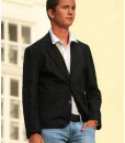 Férfi zakó fekete - Rethy Fashion