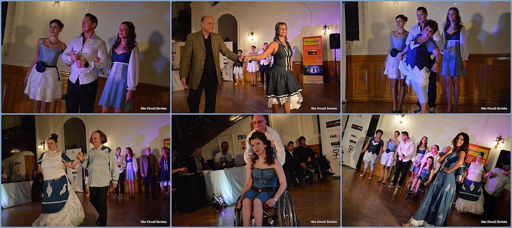Ability Fashion - Mozdulj! Divat Show modelljei Réthy Fashion ruhában
