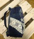 Csipkés farmer hátizsák - Rethy Fashion